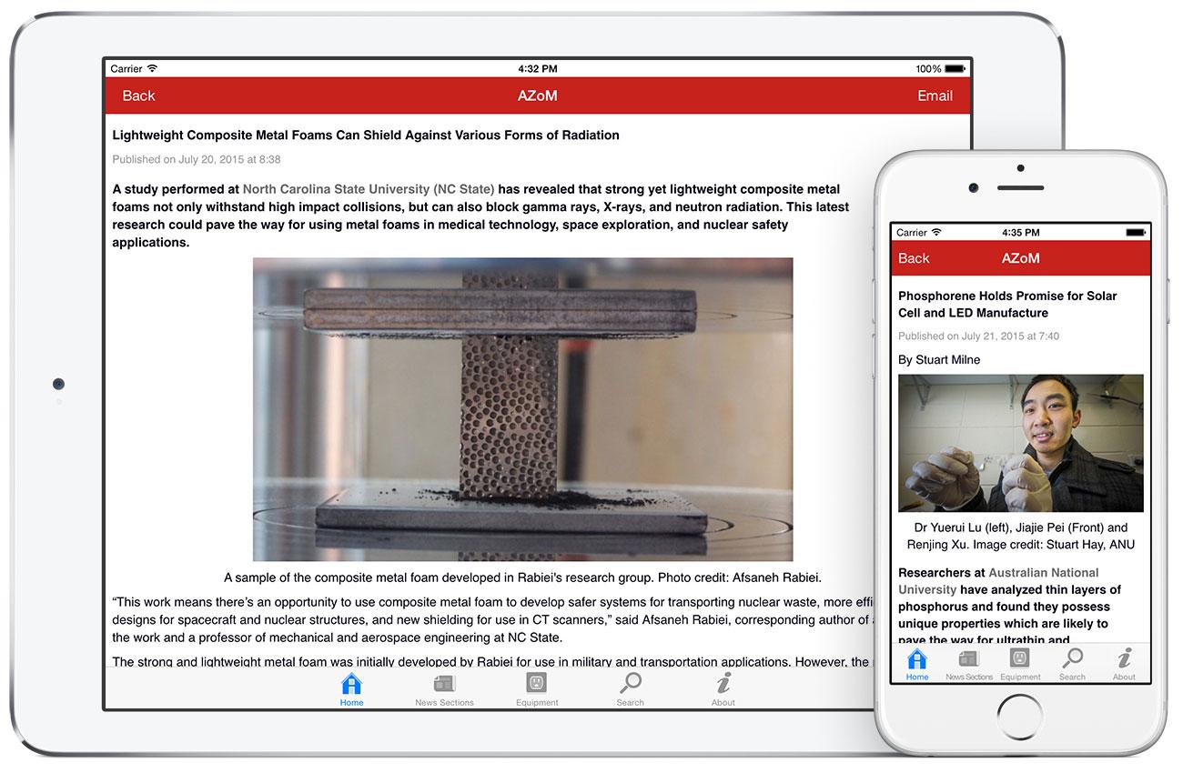 AZoM by AZoNetwork App screenshots