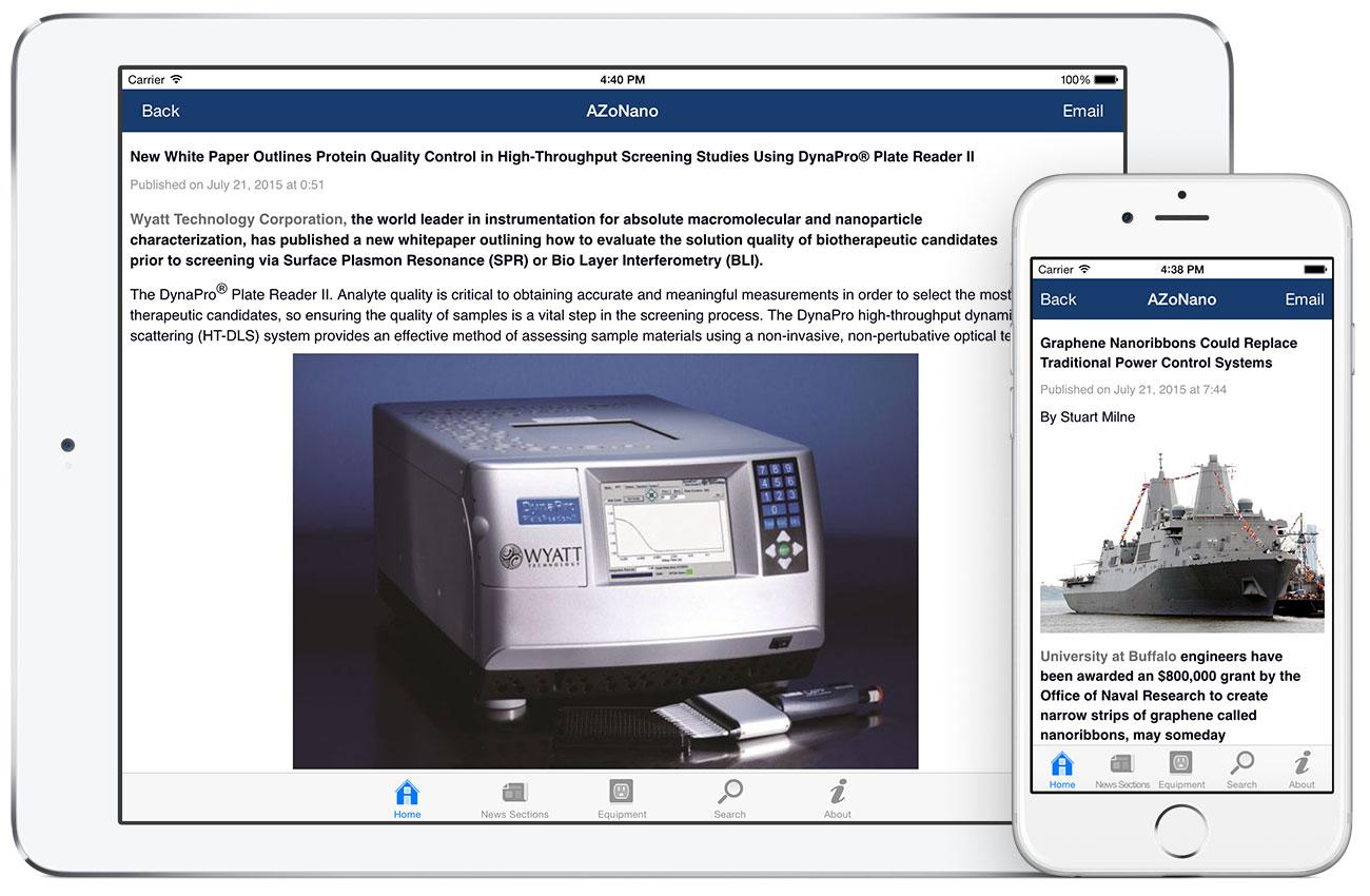 AZoNano by AZoNetwork App screenshots