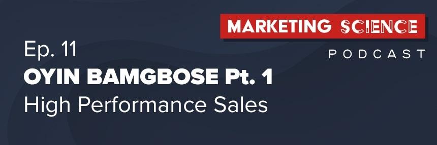 Managing High Performance Sales Teams