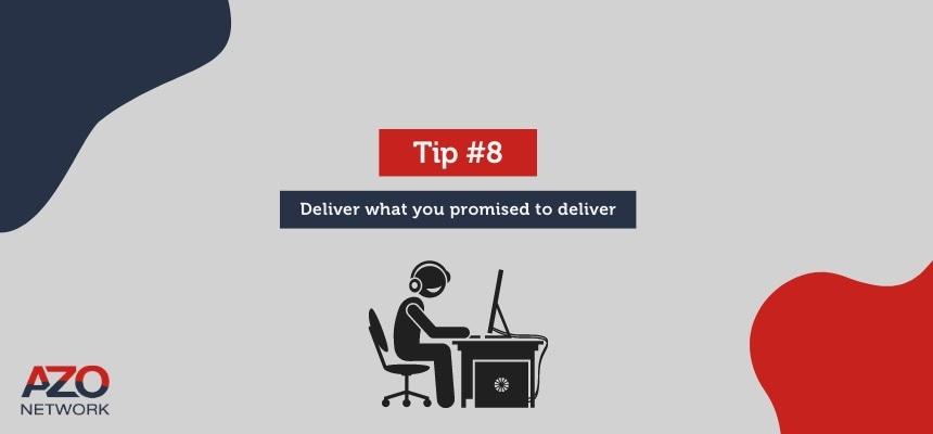Deliver your webinar promise
