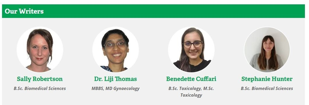 Life Science Writing Specialists