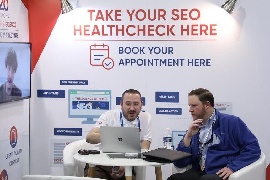 SEO Health Checks at Pittcon