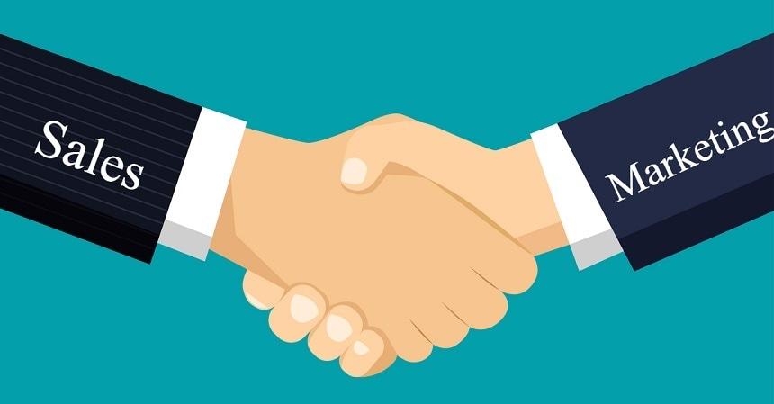 Sales and Marketing Handshake