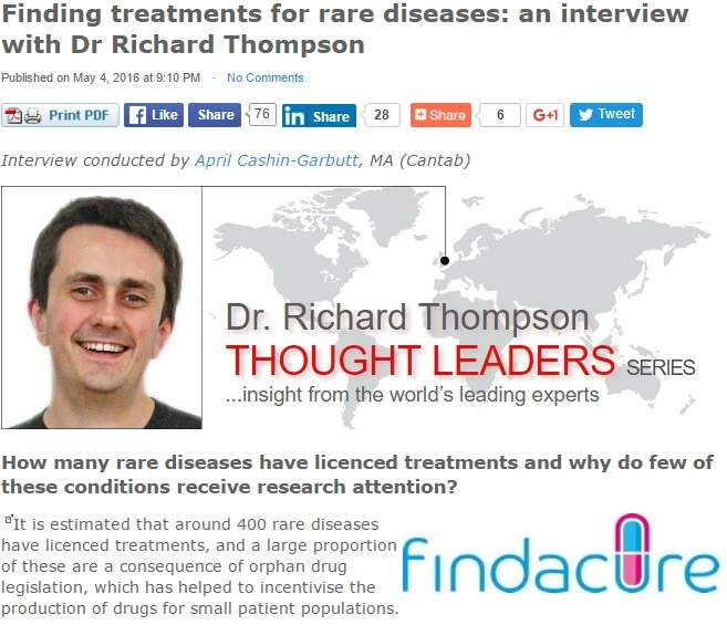 Finding treatments for rare diseases