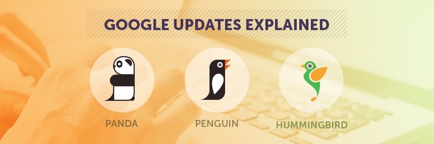 Google Updates Explained. Panda, Penguin and Hummingbird Image