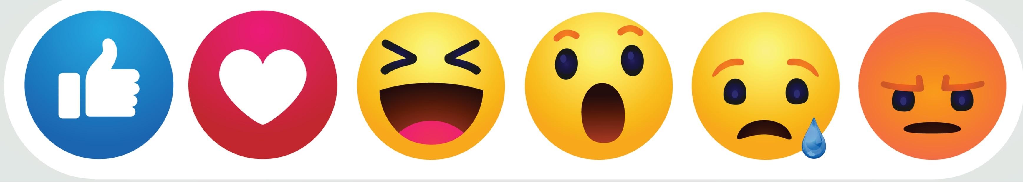 Facebook emoji banner