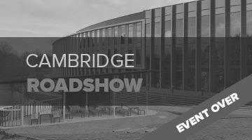 Cambridge Roadshow 2019