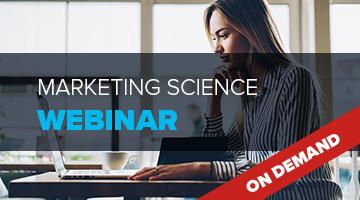 Marketing Science Webinar
