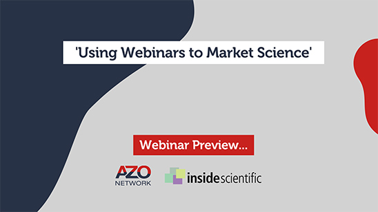 Using Webinars to Market Science: Webinar Preview